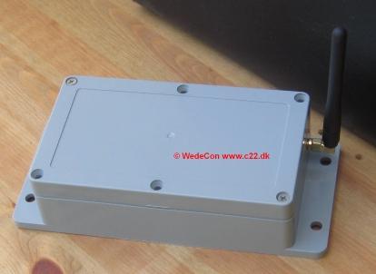 gsm custom-made elektronikudvikling control alarm