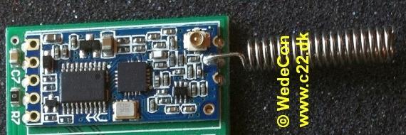 433mhz 868mhz mithings  elektronikudvikling produktudvikling