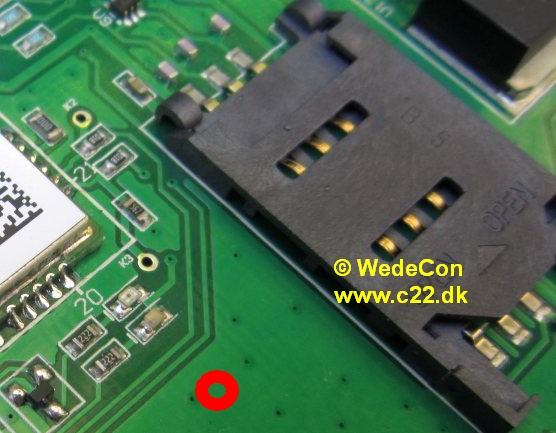 gsm modul elektronikudvikling simkort M95
