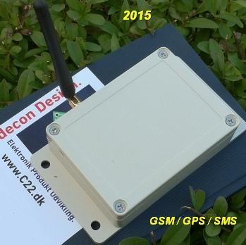 GSM control kundetilpasset SMS GPS