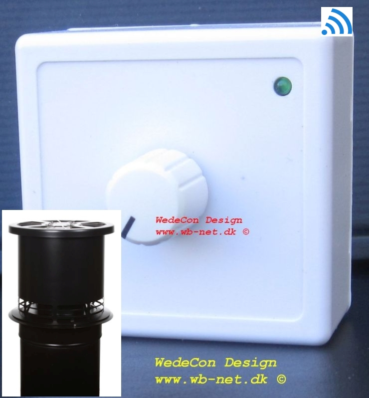 trådløs home controller elektronikudvikling DraftOptimizer Bluechimney