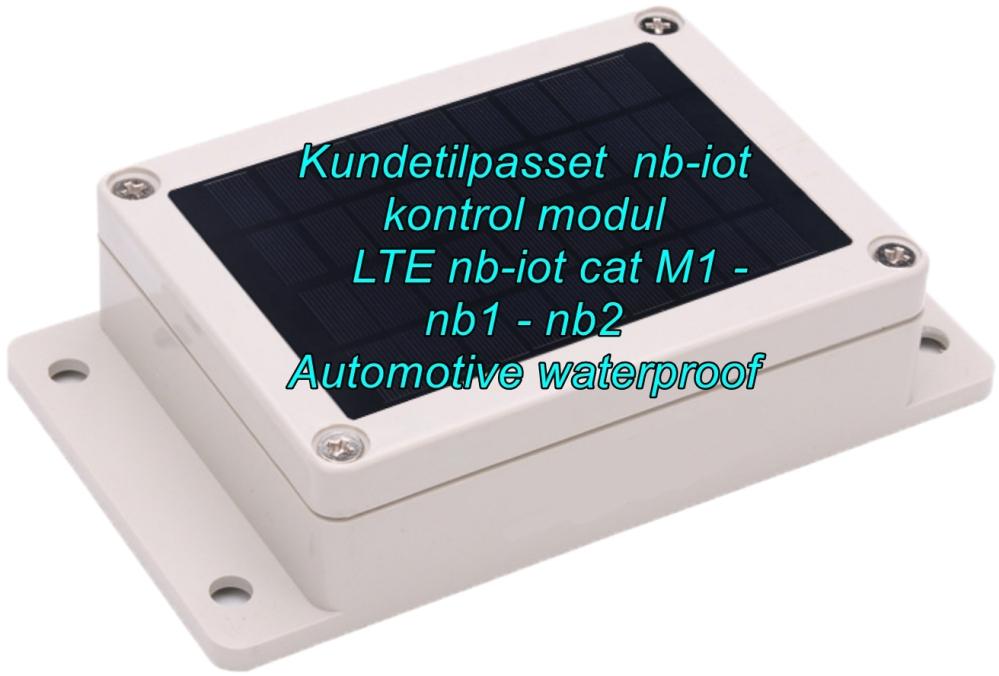 automotive waterproof  nb-iot modul elektronikudvikling iotsolutions bluetoothgateway