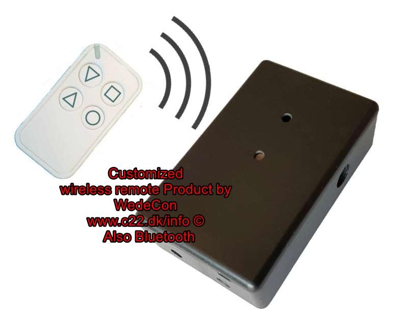 Customized product electronic development for Bluechimney  Wedecon Design