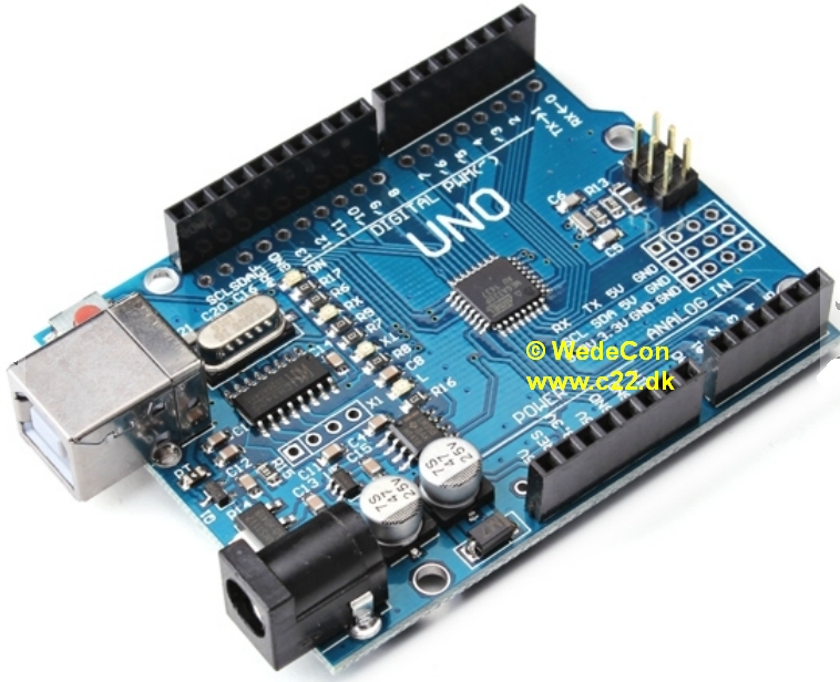 Arduino udvikling elektronikudvikling atmega328P