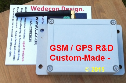 GSM KONTROL  wifi SOWE6070  wi-fi OVERVÅGNING ELEKTRONIKUDVIKLING