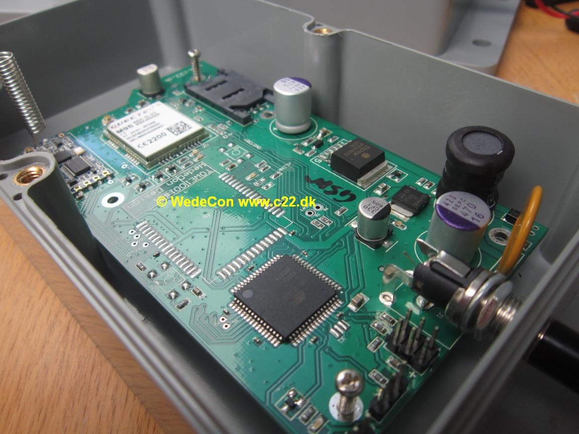 GSM SMS ALARM KONTROL elektronikudvikling