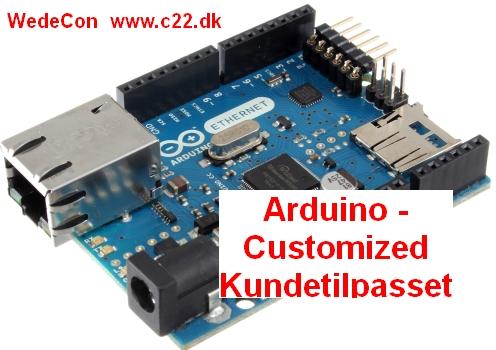 Prrotoype Kundetilpasset Arduino elektronikudvikling