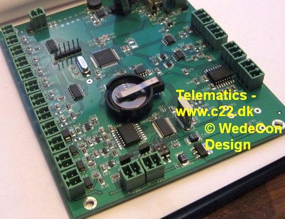 elektronik prototype udvikling hardware maskin styring