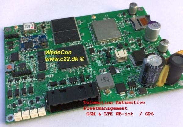 narrowband iot nb ioT udvikling Telematics Fleet management