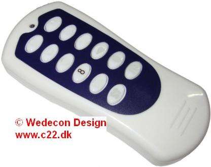 REMOTE Control 868Mhz, 433Mhz, fjernbetjening elektronikudvikling
