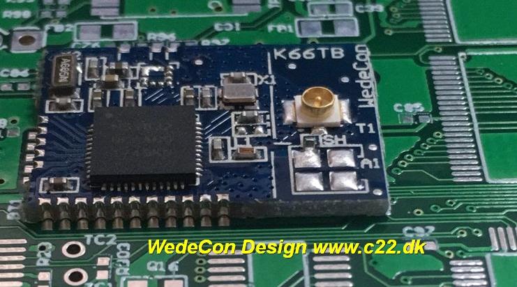 Zigbee mesh module elektronikudvikling